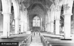 Farnham, Parish Church, Nave 1899