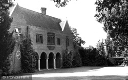 Farnham Royal, Recuperative Home From The Drive c.1955
