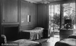 Farnham Royal, Recuperative Home, Patients Bedroom c.1955