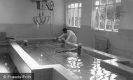 Farnham Royal, Recuperative Home Swimming Pool c1955