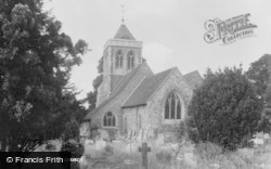 Farnham Royal, The Church c.1960