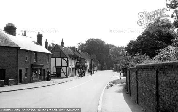 Farnham Royal, the Village c1955
