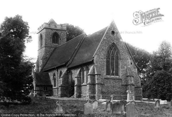 Photo of Farnham, St Mary The Virgin Church 1899