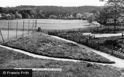 Farnham, The Recreation Ground, Lower Bourne c.1960