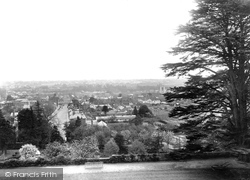 Farnham, View From The Castle 1924
