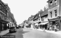 Farnham, West Street 1924