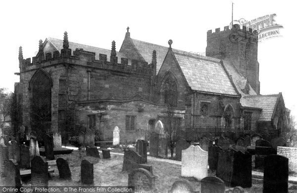 Photo of Farnworth, St Luke's Parish Church 1900