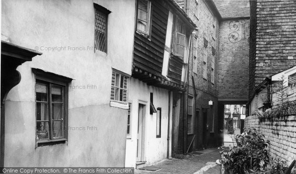 Photo of Faversham, A Pretty Corner c.1960