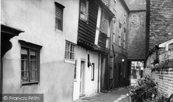 Faversham, A Pretty Corner c.1960