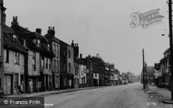 Faversham, Abbey Street c.1955