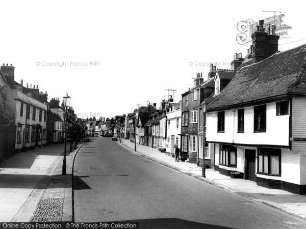 Faversham, Abbey Street c1960
