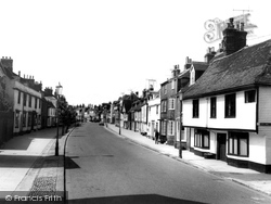 Faversham, Abbey Street c.1960
