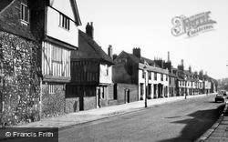 Faversham, Arden House And Abbey Street c.1955