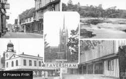 Faversham, Composite c.1960