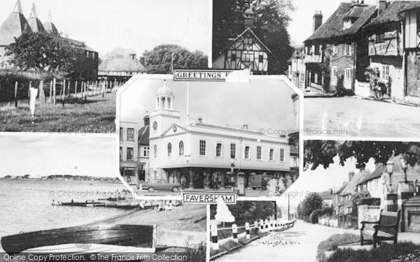 Photo of Faversham, Composite c.1965