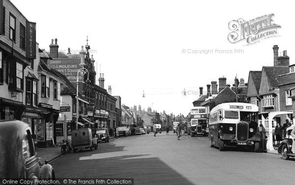Photo of Faversham, Court Street 1952