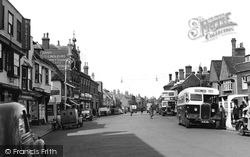 Faversham, Court Street 1952