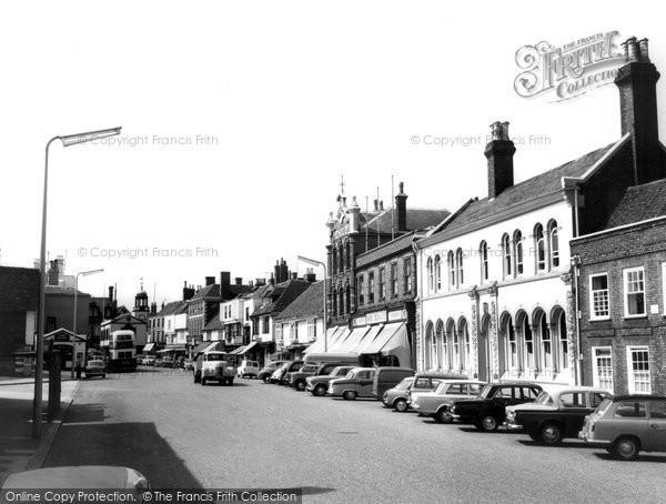 Faversham, Court Street c1965