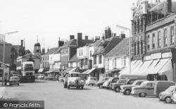 Faversham, Court Street c.1965