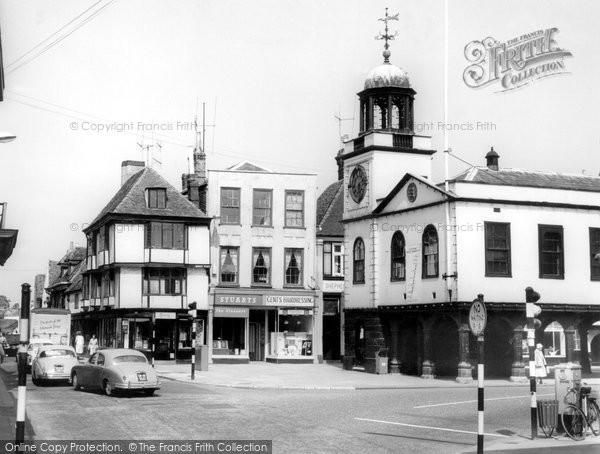 Faversham, Market Place c1960