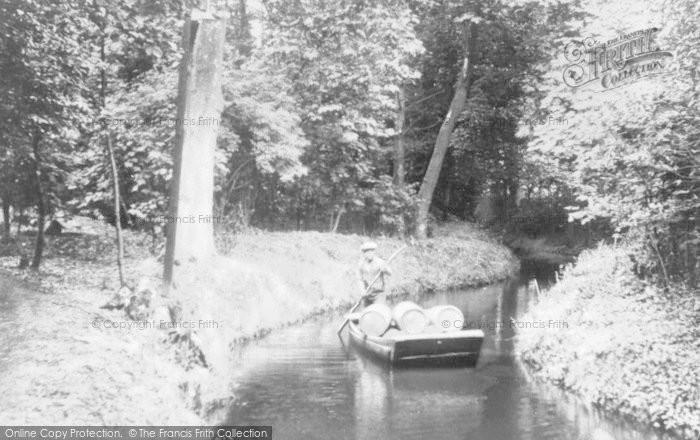 Photo of Faversham, Powder Punt, Marsh Works c.1925