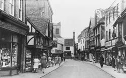 Faversham, Preston Street c.1955