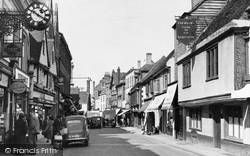 Faversham, Preston Street c.1955
