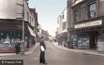 Faversham, Preston Street c1955