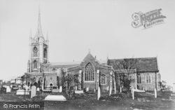 Faversham, St Mary Of Charity Parish Church c.1875