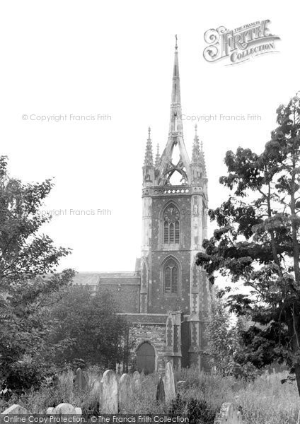 Photo of Faversham, St Mary Of Charity Parish Church c.1960