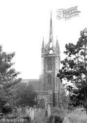 Faversham, St Mary Of Charity Parish Church c.1960