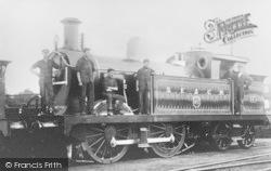 Faversham, Steam Train, S E & C R Engine 550 c.1910