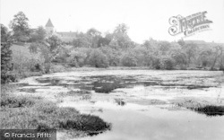 Faversham, Stonebridge Pond c.1955