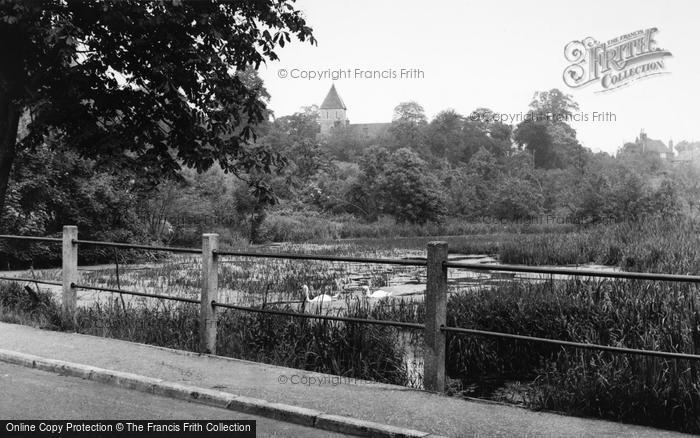 Photo of Faversham, Stonebridge Pond c.1960