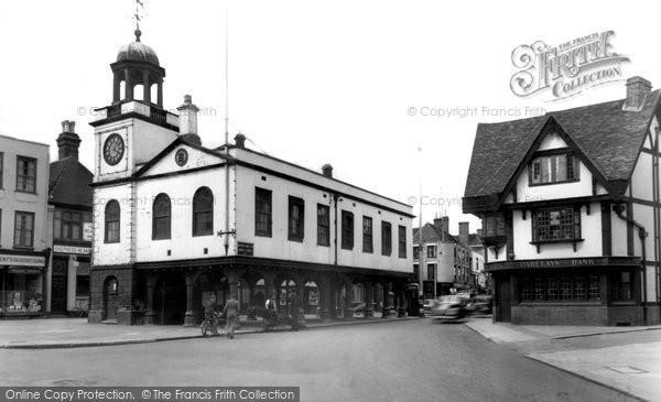 Faversham, the Guildhall c1960