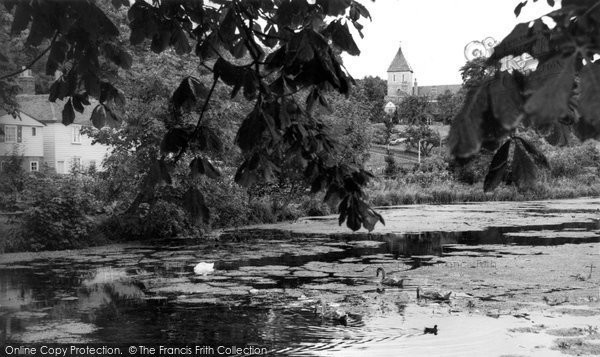 Photo of Faversham, The Pond c.1960