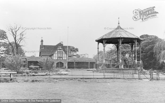 Photo of Faversham, The Recreation Ground c.1955