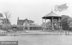 Faversham, The Recreation Ground c.1955