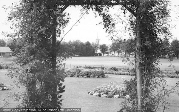 Photo of Faversham, The Recreation Ground c.1960