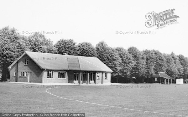 Photo of Faversham, The Recreation Ground Pavilion c.1960