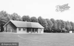 Faversham, The Recreation Ground Pavilion c.1960