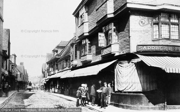 Faversham, West Street 1892