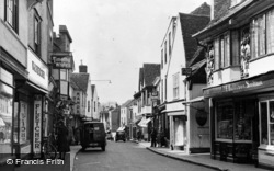 Faversham, West Street c.1955