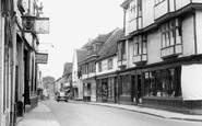 Faversham, West Street c1960