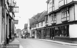 Faversham, West Street c.1960