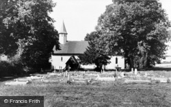 Fawkham Green, St Mary's Church c.1960