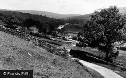 Feetham, Village And Melbecks Church c.1955
