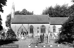Church Of St John The Divine c.1965, Felbridge
