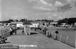 Felixstowe, A View From The Pier c.1957