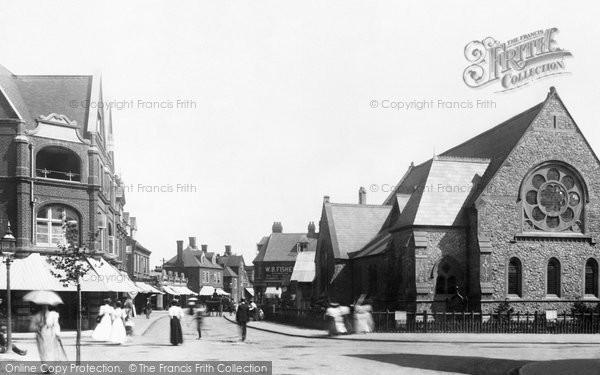 Felixstowe, Bank Corner 1899